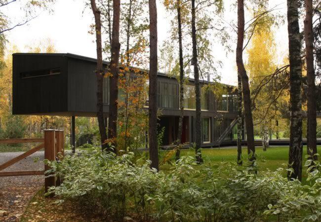 Case su misura case prefabbricate chiavi in mano wood beton for Case ranch su misura