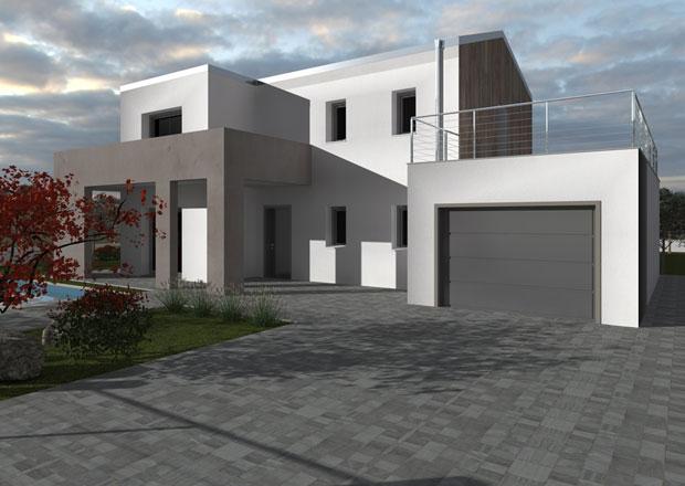 Case concept studio casa prefabbricata modulare wood beton - Casa modulare prefabbricata ...